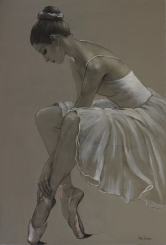 MonoChrome Ballerina 24' x 36'